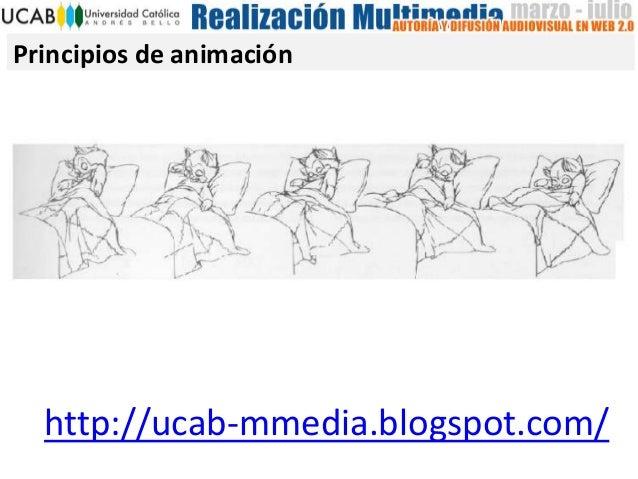 Principios de animaciónhttp://ucab-mmedia.blogspot.com/