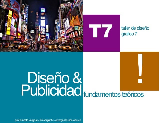 T7   taller de diseño                                                              grafico 7     Diseño &    Publicidad fu...