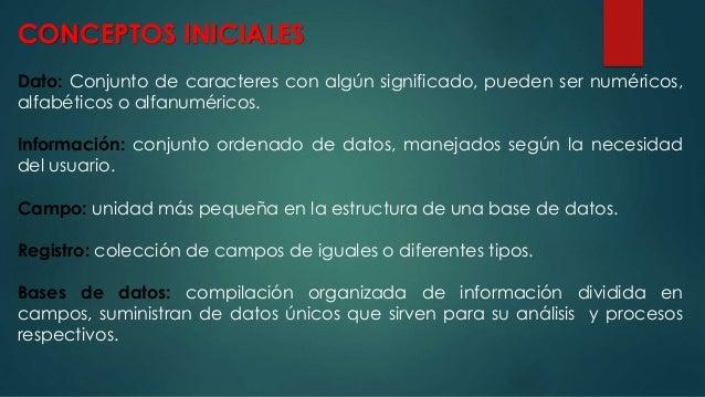 OBJETOS DE UNA BD EN MICROSOFT ACCESS TABLAS CONSULTAS FORMULARIOS INFORMES MACROS MÓDULOS