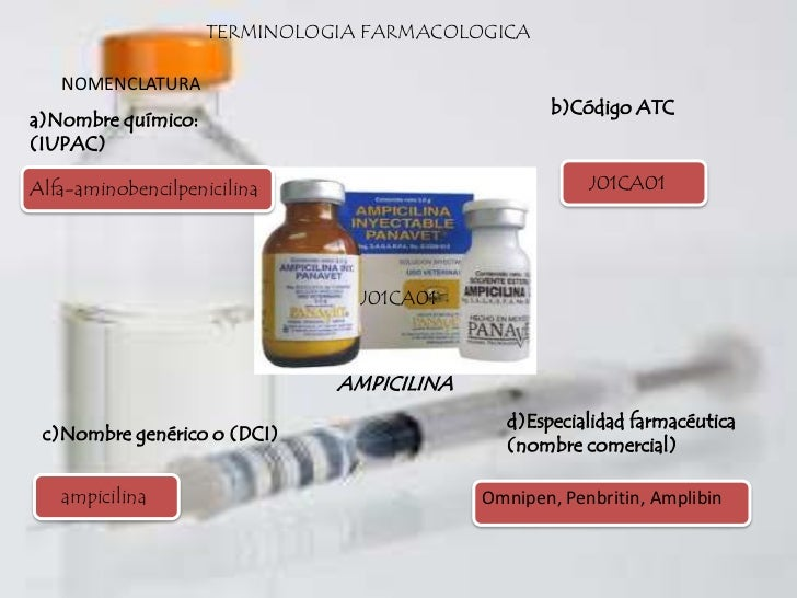 Clase 1 - terminologia farmacologica