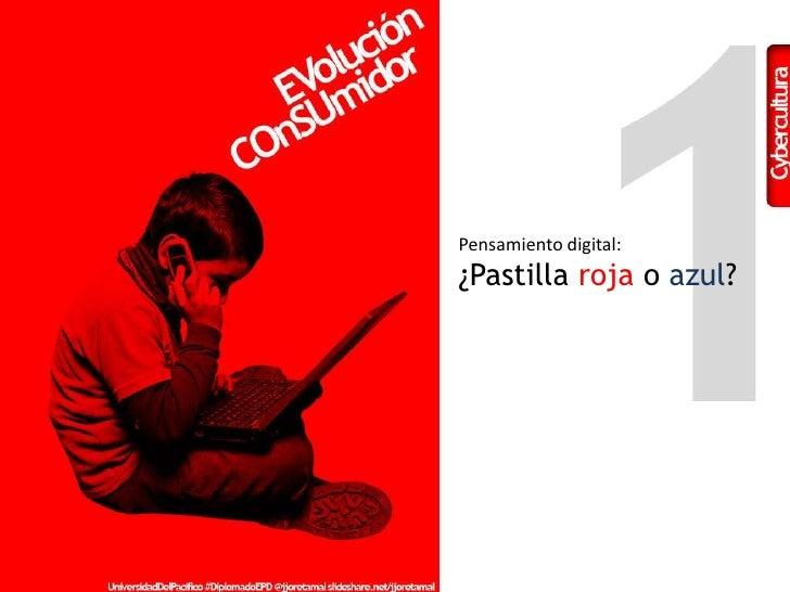 Pensamiento digital:<br />¿Pastilla roja o azul?<br />