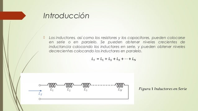Circuito En Paralelo Ejemplos : Clase 11 inductores en serie y paralelo
