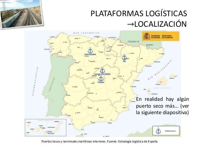 Localizaci n de plataformas log sticas clase 12 3 15 for Ministerio de relaciones interiores espana