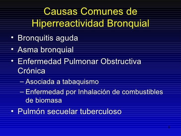 Hiperreactor Bronquial Pdf