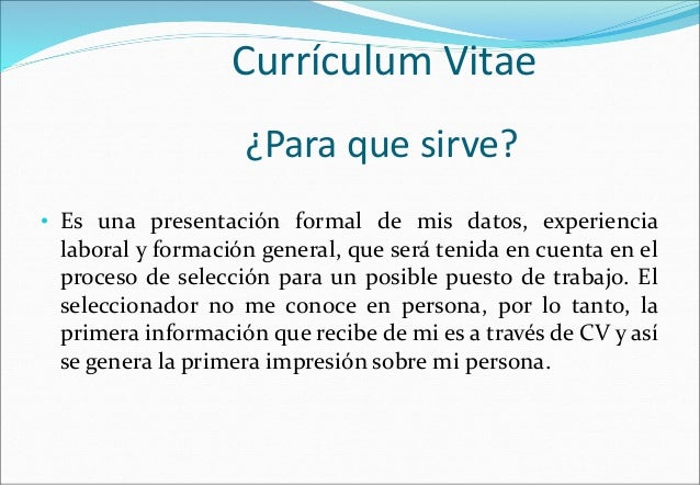 Que Es Un Curriculum Vitae Y Para Que Sirve Wikipedia Ft Ptithcm Edu Vn