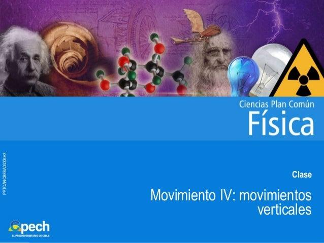 PPTCANCBFSA03004V3 Clase Movimiento IV: movimientos verticales