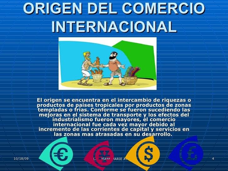 Clase 1 comercio internacional for Comercio exterior que es