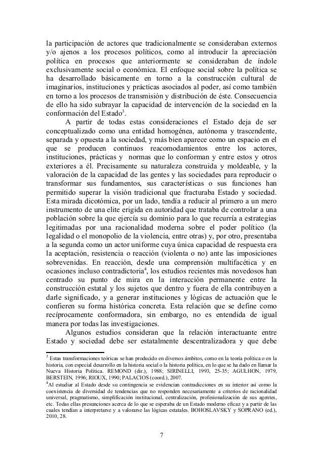 la participación de actores que tradicionalmente se consideraban externos y/o ajenos a los procesos políticos, como al int...