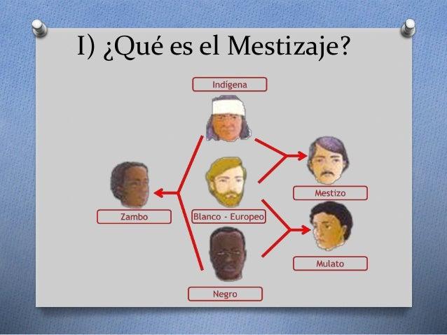 Clase 1 El Mestizaje