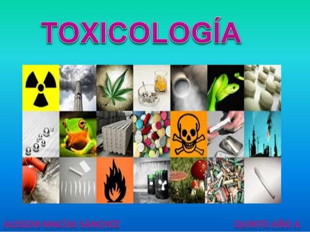 CONCEPTO: Es la ciencia que estudia los tóxicos y las intoxicaciones. Comprende: Origen y propiedades, mecanismos de acció...