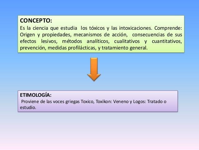 TOXICOLOGIA- INTRODUCCION  Slide 2