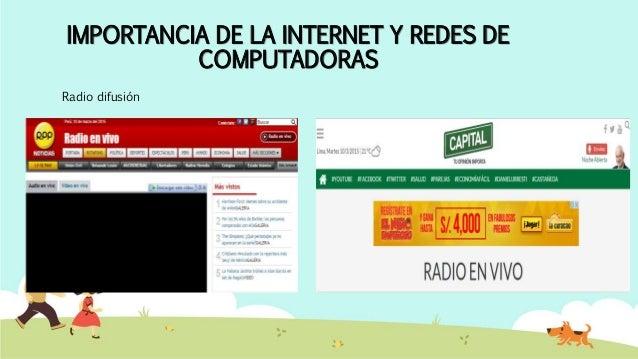 IMPORTANCIA DE LA INTERNET Y REDES DE COMPUTADORAS Entidades Gubernamentales