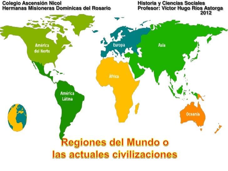 Colegio Ascensión Nicol                     Historia y Ciencias SocialesHermanas Misioneras Dominicas del Rosario   Profes...