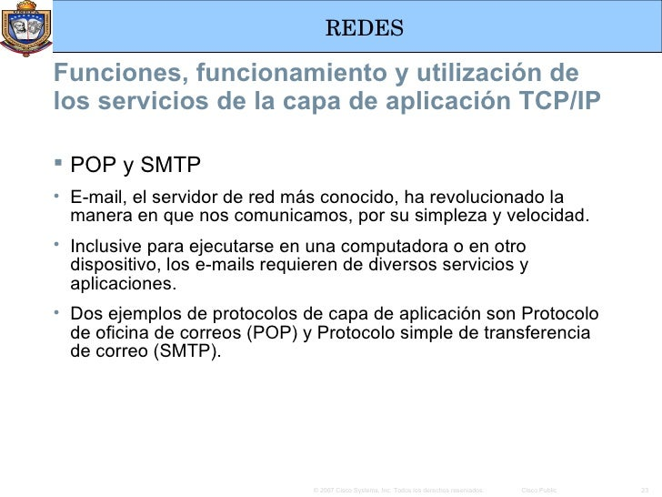 Protocolo y funcionalidad de la capa de aplicaci n for Protocolo pop
