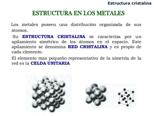 Clase 2 Estructura Cristalina