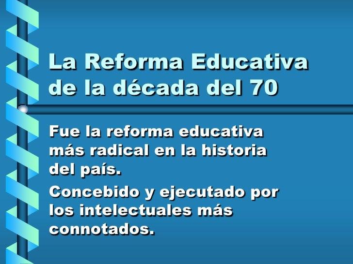 Clase 2   Politicas Educativas En El Perú En Los úLtimos Decenios Slide 2