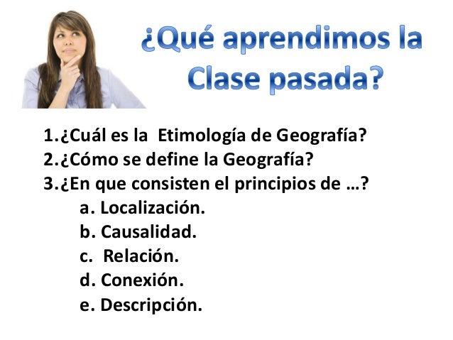 Clase 2 geografia proposito, significado e importabncia Slide 3