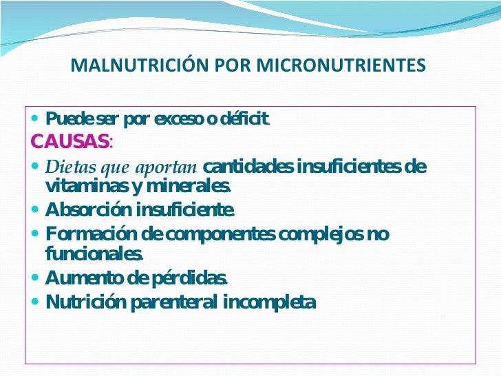 Malnutrición por micronutrientes Slide 8