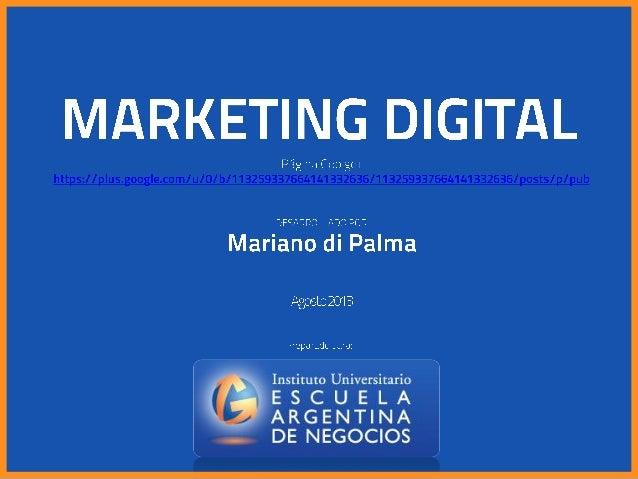 Mariano di Palma - Todos los derechos reservados. Solo para uso de estudio interno del alumno.