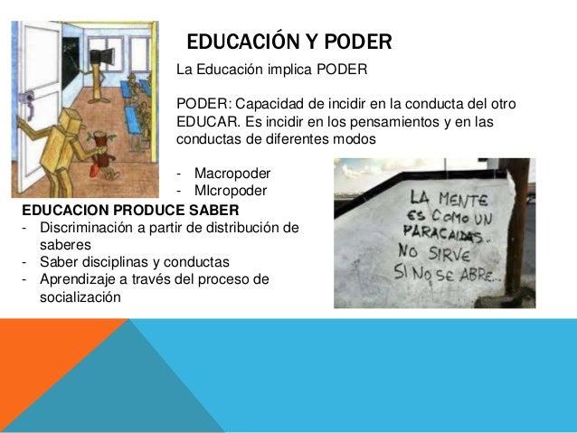 De que hablamos cuando hablamos de educaci n for Educacion para poder