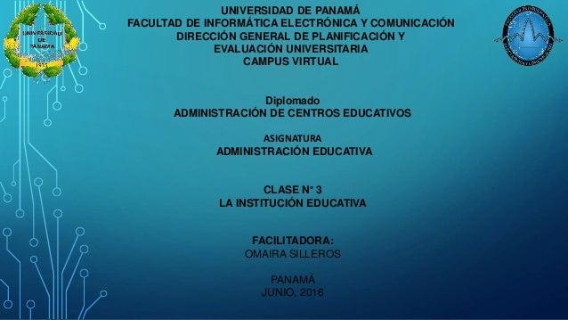 UNIVERSIDAD DE PANAMÁ FACULTAD DE INFORMÁTICA ELECTRÓNICA Y COMUNICACIÓN DIRECCIÓN GENERAL DE PLANIFICACIÓN Y EVALUACIÓN U...