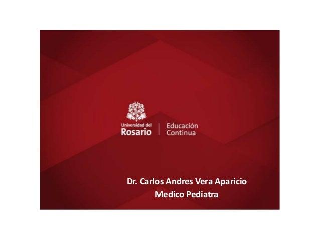 TÍTULO Dr. Carlos Andres Vera Aparicio Medico Pediatra Dr. Carlos Andres Vera Aparicio Medico Pediatra