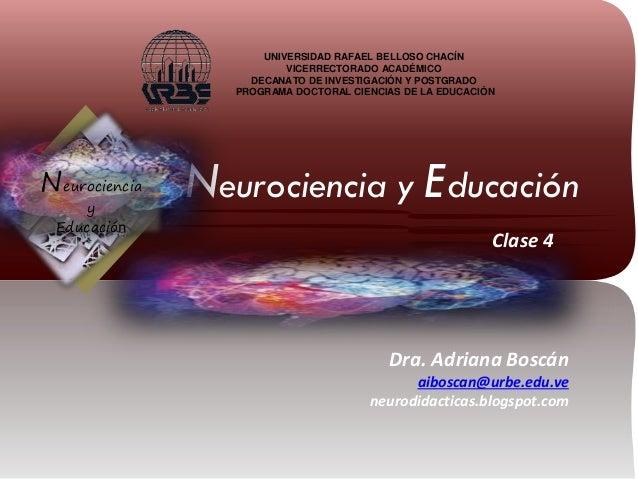 UNIVERSIDAD RAFAEL BELLOSO CHACÍN VICERRECTORADO ACADÉMICO DECANATO DE INVESTIGACIÓN Y POSTGRADO PROGRAMA DOCTORAL CIENCIA...