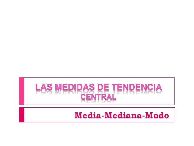 Media-Mediana-Modo
