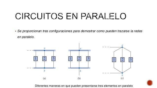 Circuito En Paralelo : Clase circuitos en paralelo