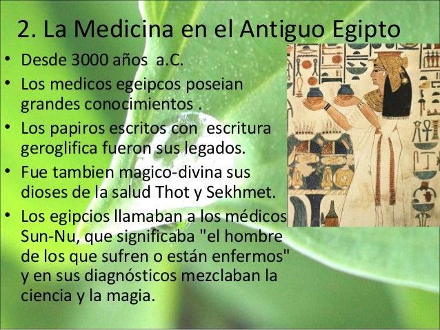 Clase 4 la medicina en el mundo antiguo
