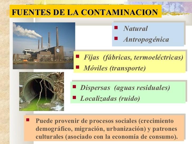Clase 4 tema 3 contaminacion - Fuentes de contaminacion de los alimentos ...
