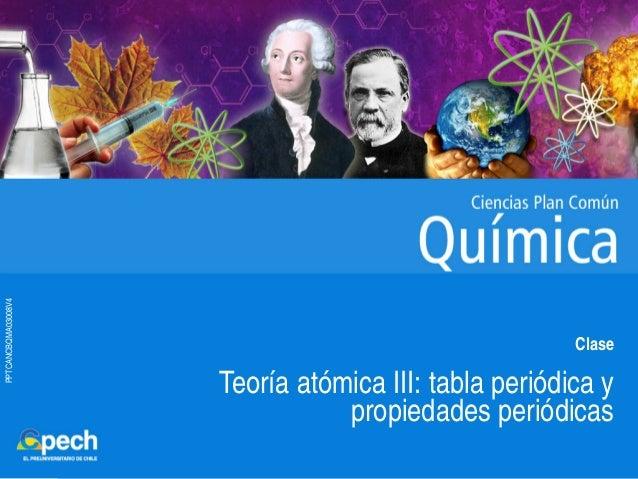 Clase 4 teoria atomica iii tabla periodica y propiedades periodicasu pptcancbqma03008v4 clase teora atmica iii tabla peridica y propiedades peridicas urtaz Gallery