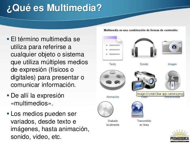 Clase 5 archivos multimedia - Definicion de multimedia ...