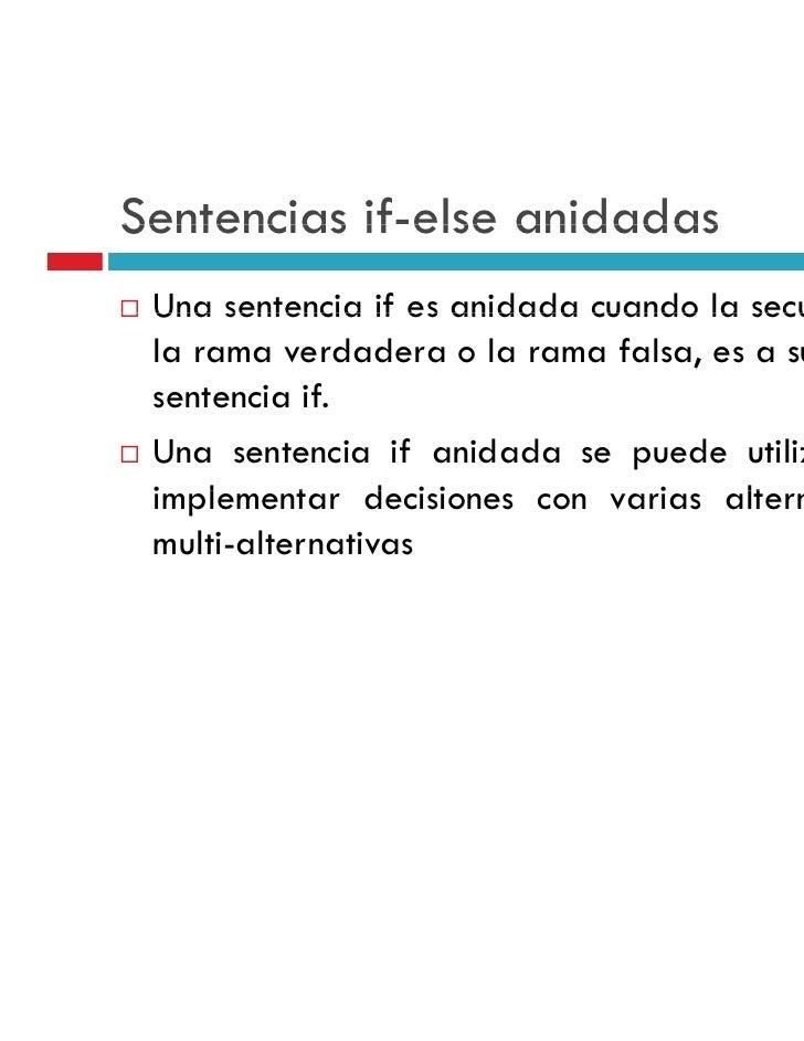 Estructuras De Selección Sentencias If Y Switch En C