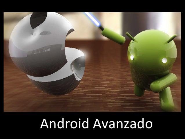Android'Avanzado'