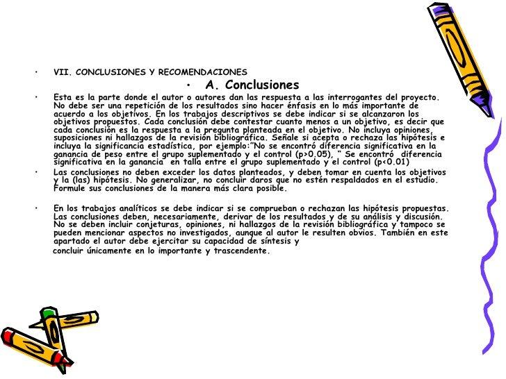 clase 6 discusión conclusiones recomendaciones