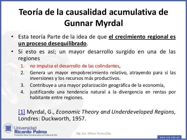 Gunnar myrdal theory - 3 part 5