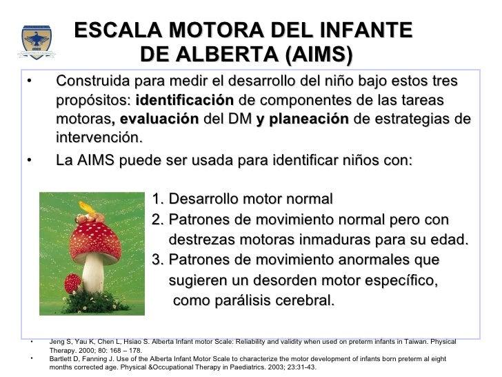 Alberta Infant Motor Scale Alberta Infant Motor Scale