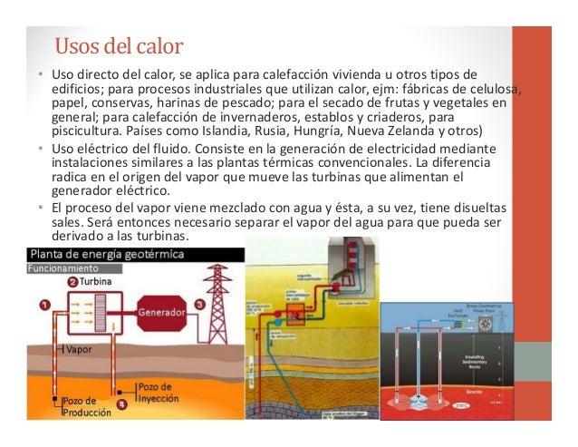 Clase 7 energ a geot rmica - En que consiste la energia geotermica ...