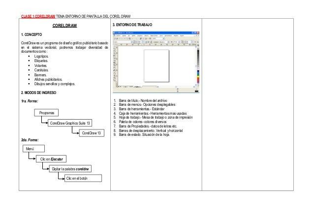 Corel Draw Learning Manual