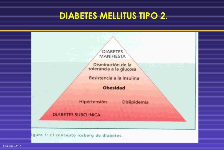 DIABETES MELLITUS TIPO 2.
