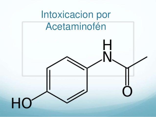 Intoxicacion por Acetaminofén