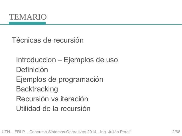 Clase concurso sintaxis 2014 Slide 2