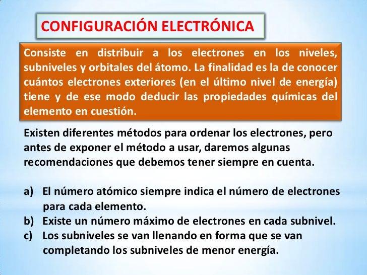 Clase De Configuración Electrónica