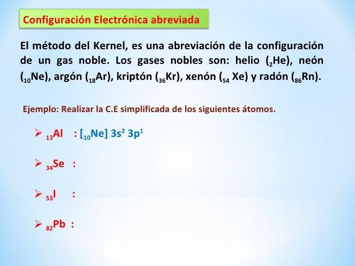 Configuracin electrnica 10 configuracin electrnica abreviadael mtodo del kernel urtaz Gallery