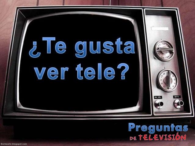 Clase de conversación - Televisión