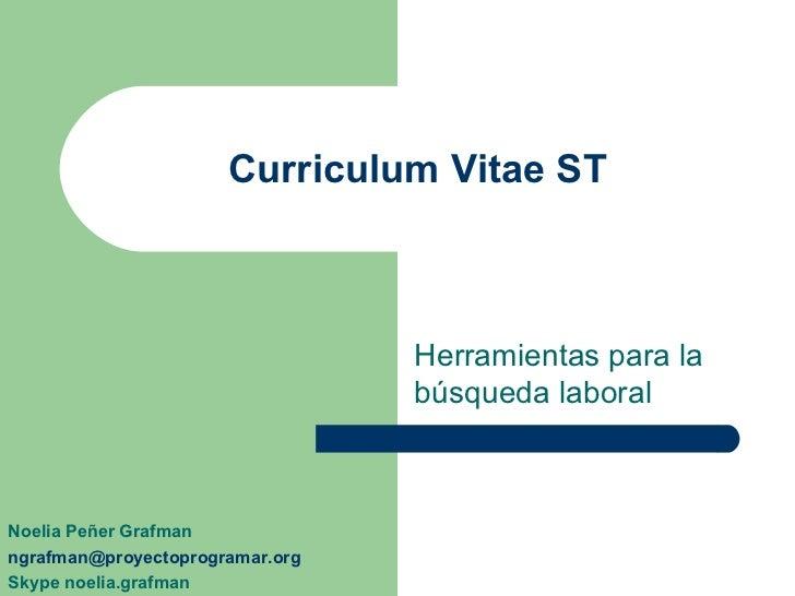 Como armar mi Curriculum Vitae?