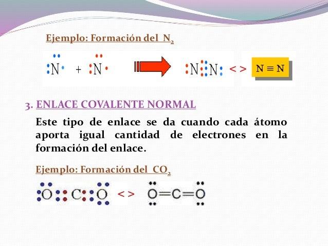 4. ENLACE COVALENTE COORDINADO (DATIVO) Este tipo de enlace se da cuando uno de los átomos aporta el par de electrones enl...