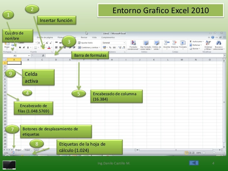 1                2                                               Entorno Grafico Excel 2010                        Inserta...