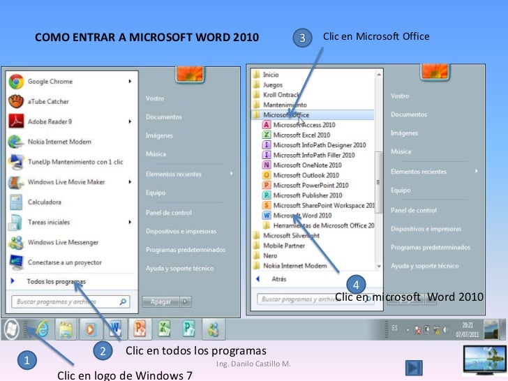 clase de word 2010 capacitaci u00f3n